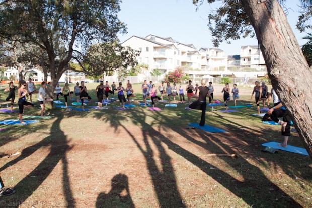 Yoga to start my 40's.