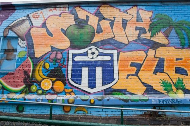 South Melbourne Graffiti.