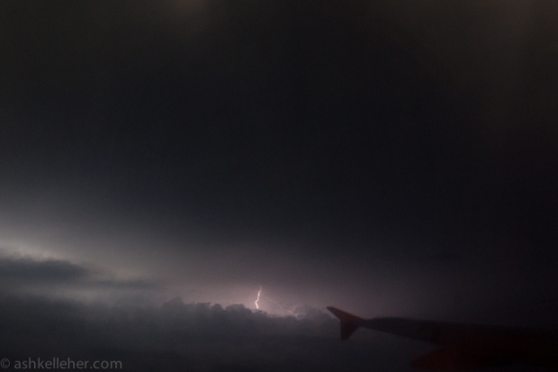 This storm was as good as it comes and I can only imagine what the pilots must have been seeing!