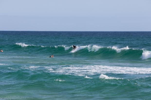 Little windy waves.