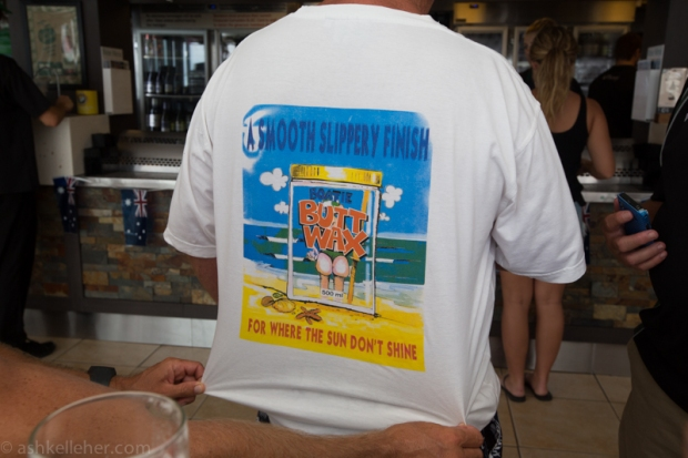 A fair shirt..