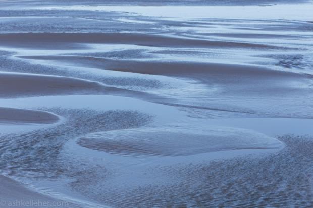 Funky low tide sands.