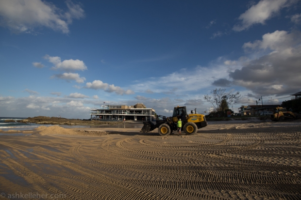 Tractor and the SLSC
