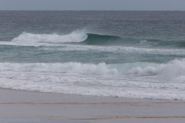 There were still some good waves around.