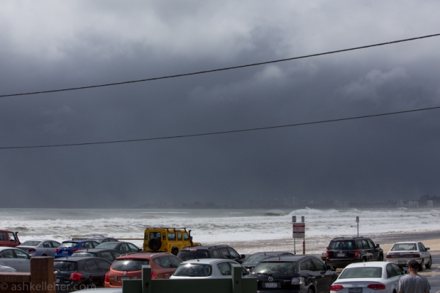 Another squall...