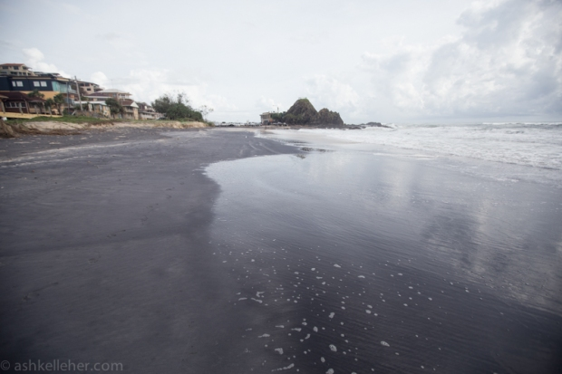 I'm loving the black sand. I can't wait to see my Hassleblad shots!