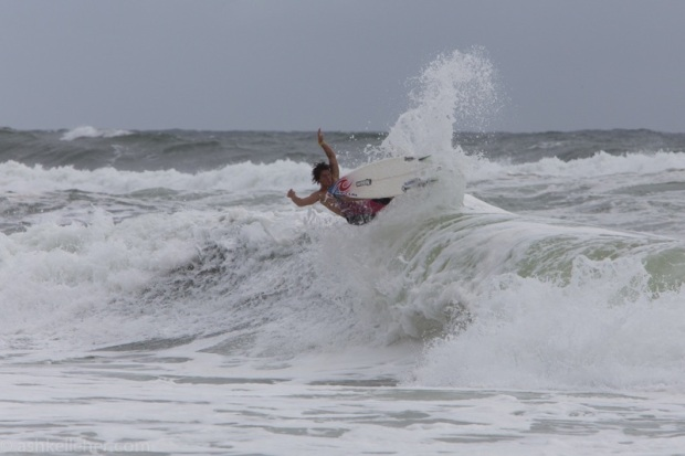 Luckily for Morrison surfing like this. 1