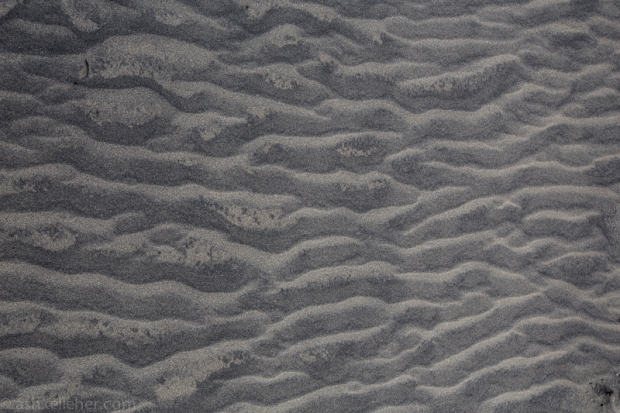 Funky sand..