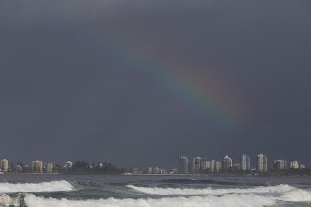 Arrhh,, the rainbow!