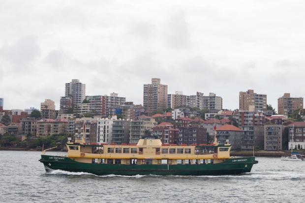 A ferry.