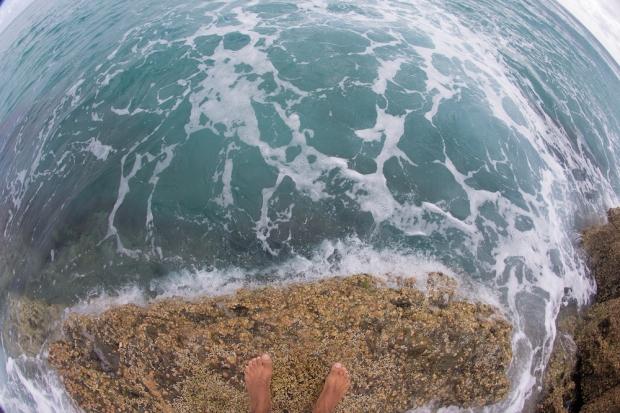 Jump rock.